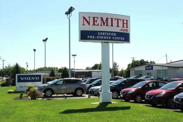 Nemith Volvo at 962 New Loudon Road on Tuesday Aug.19, 2014 in Latham, N.Y.  (Michael P. Farrell/Times Union) Photo: Michael P. Farrell / 00028247A