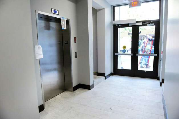 The entry way of the restored Proctor Building, and the new home of the Rensselaer County Regional Chamber of Commerce, on Wednesday, Sept. 3, 2014, in Troy, N.Y. (Cindy Schultz / Times Union) Photo: Cindy Schultz / 00028431A