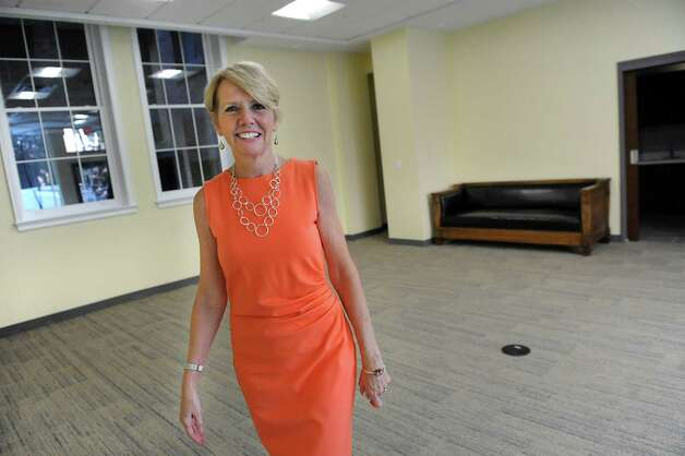 Linda Hillman, president of the Rensselaer County Regional Chamber of Commerce, in the first floor conference room on Wednesday, Sept. 3, 2014, at the Proctor Building in Troy, N.Y. (Cindy Schultz / Times Union) Photo: Cindy Schultz / 00028431A