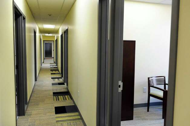 The hallway in the Rensselaer County Regional Chamber of Commerce on Wednesday, Sept. 3, 2014, at the Proctor Building in Troy, N.Y. (Cindy Schultz / Times Union) Photo: Cindy Schultz / 00028431A