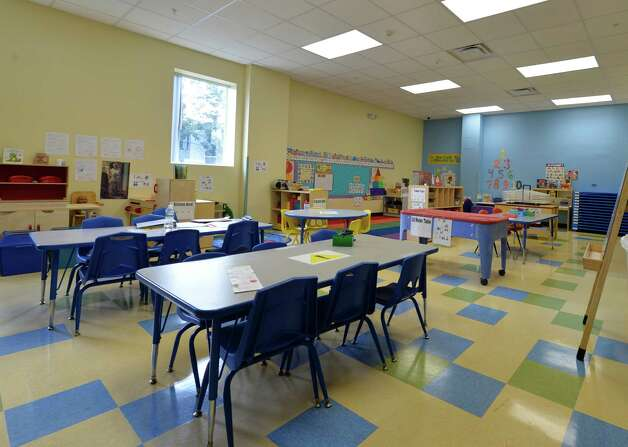 Interior view of one of classrooms at the Early Childhood Center  on Grand Opening Day Wednesday Sept. 3, 2014 in Albany, N.Y.   (Skip Dickstein/Times Union) Photo: SKIP DICKSTEIN / 00028433A