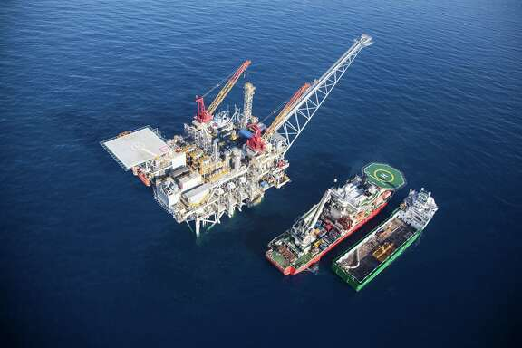 Noble Energy reported its third-quarter profit doubled, and said a diverse portfolio including operations in the Tamar field in the Mediterranean  would help it weather a slump in oil prices. (Noble Energy photo)