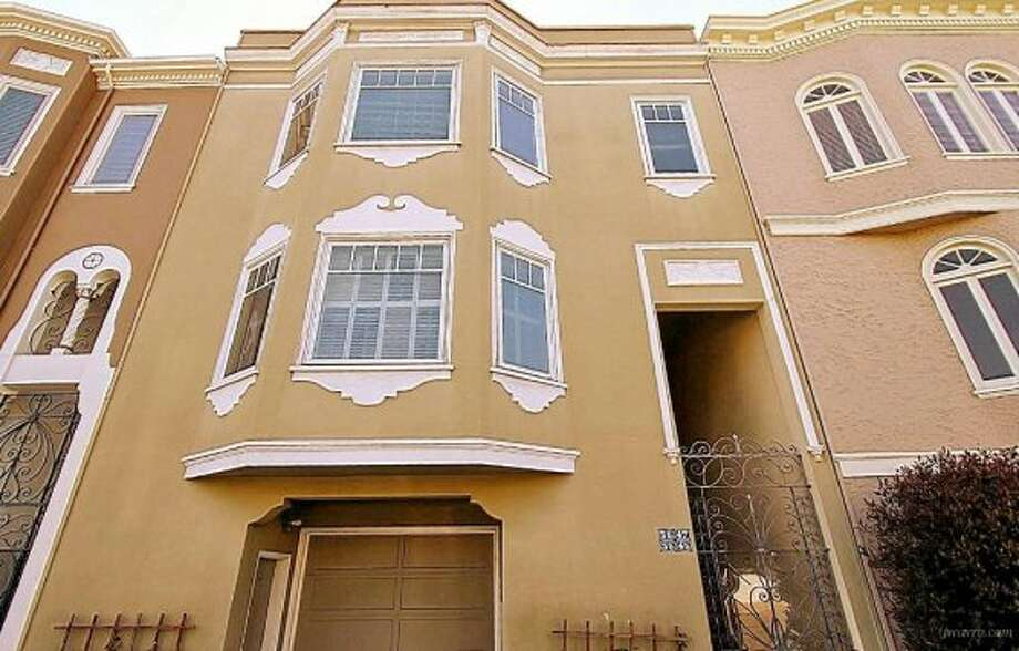 A typical Marina building. Is the rent too typical? Photos: J Wavro