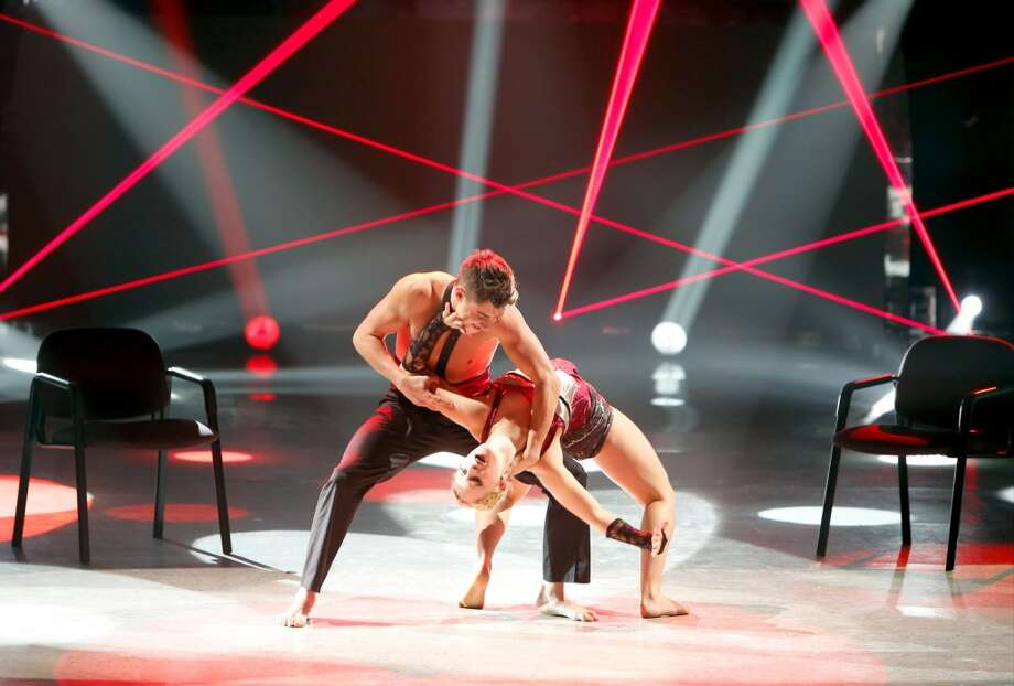 "SO YOU THINK YOU CAN DANCE: SEASON 11 FINALE: Contestants Tanisha Belnap (R) and Rudy Abreu perform a Jazz routine to ""You Need"" choreographed by Sonya Tayeh on SO YOU THINK YOU CAN DANCE airing Wednesday, September 3 (8:00-10:00 PM ET/PT) on FOX. ©2014 FOX Broadcasting Co. Cr: Adam Rose"