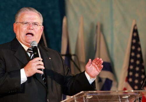 """Ebola may be part of God's judgment for President Barack Obama's alleged attempts to """"divide Jerusalem,"""" said John Hagee, a San Antonio-based pastor and founder of Christians United For Israel. Photo: JACK GUEZ, Getty Images / 2008 AFP"""