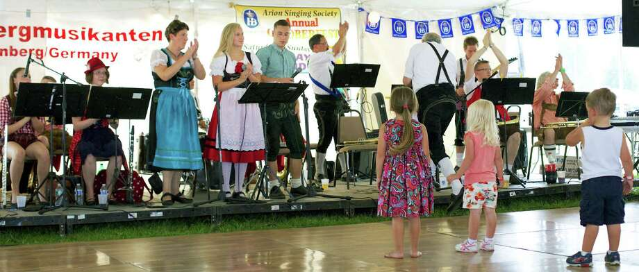 The Arion Singing Society's annual Oktoberfest, Aug. 30-31, 2014 in New Milford. Photo: Trish Haldin / The News-Times Freelance