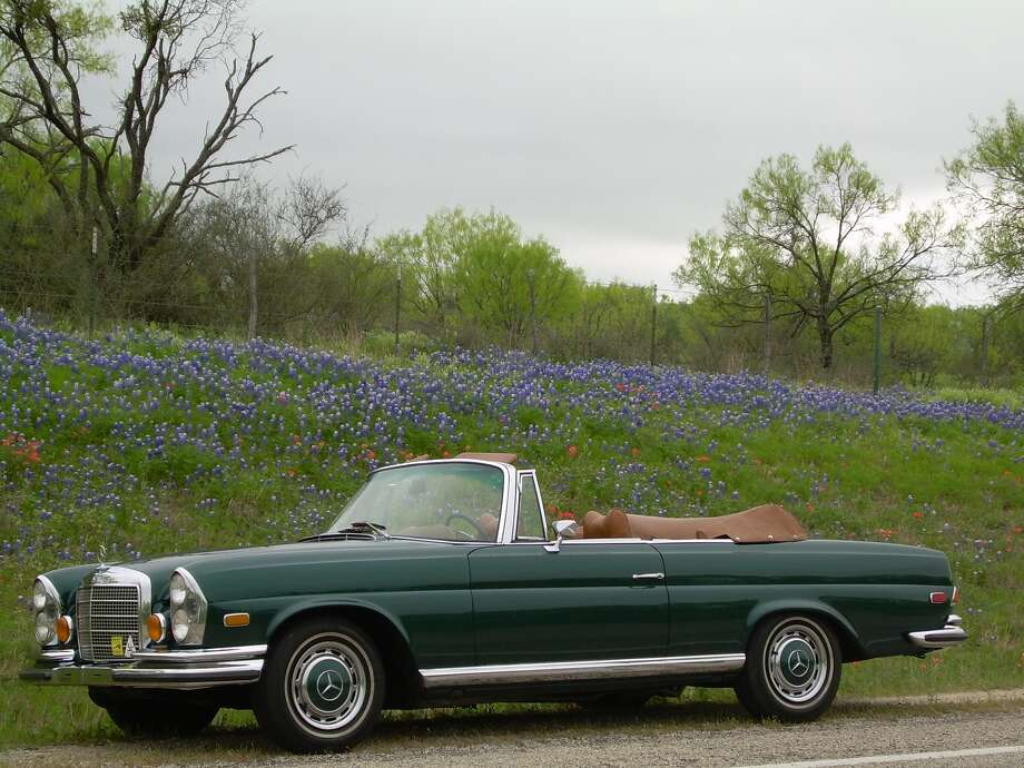 """Mike Marsh's hobby is """"vintage cars, particularly Mercedes,"""" and found this 1971 Mercedes cabriolet at the Tupelo Automobile Museum. A rarity in the automotive world, odds of finding a 280 SE cabriolet were slim. Mercedes made only 1,232 of them in 1971, and only about 600 of that number were sent to the U.S. / Copyright 2006"""