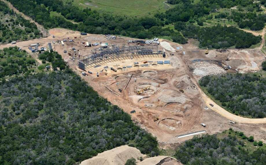 Construction of the multi-million dollar mega-driving range and sporting facility on the Northwest Side of San Antonio is expected to open in early 2015. Photo: Zach Shor, Courtesy, Top Golf