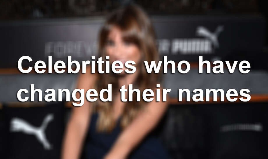 For legal or marketing reasons, many celebrities have changed their names. Click through to see celebrities' real names. Photo: John Shearer/Invision For PUMA