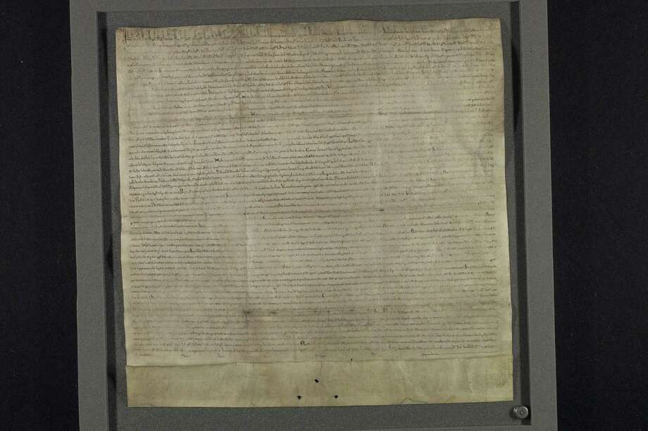 The Magna Carta (photo credit Lincoln Cathedral)