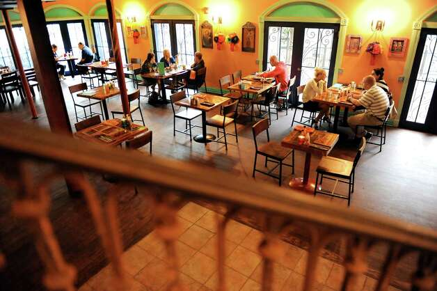 One of the dining rooms on Thursday, Aug. 21, 2014, at Mexican Radio in Schenectady, N.Y. (Cindy Schultz / Times Union) Photo: Cindy Schultz / 00028252A