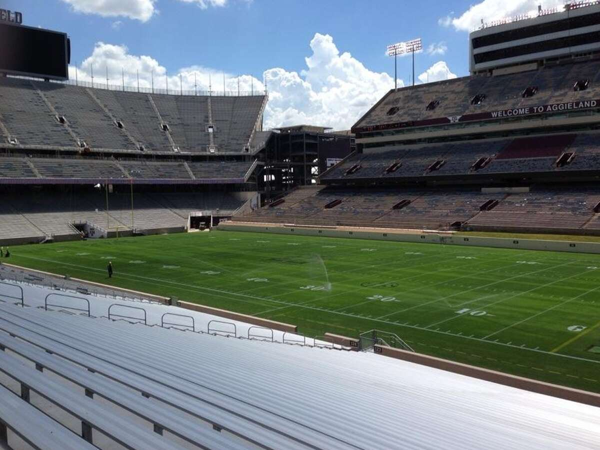 Kyle Field is getting prepped for Saturday's opener.