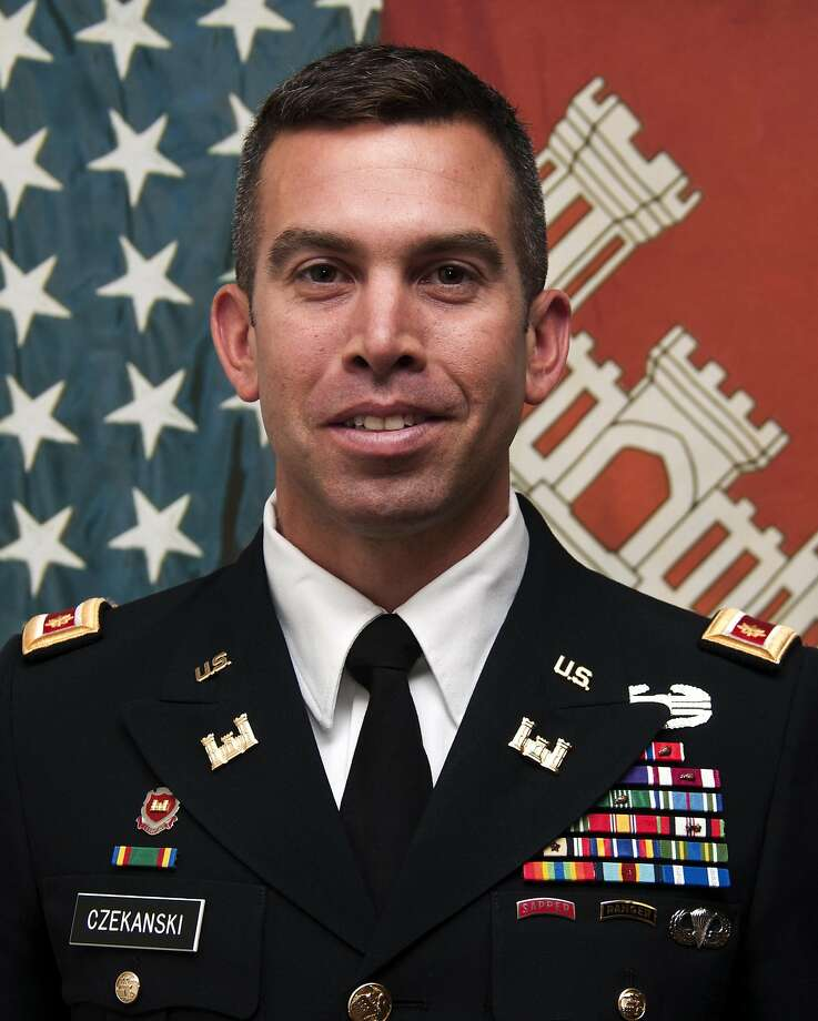 Maj. Adam Czekanski Photo: Courtesy Of The U.S. Army