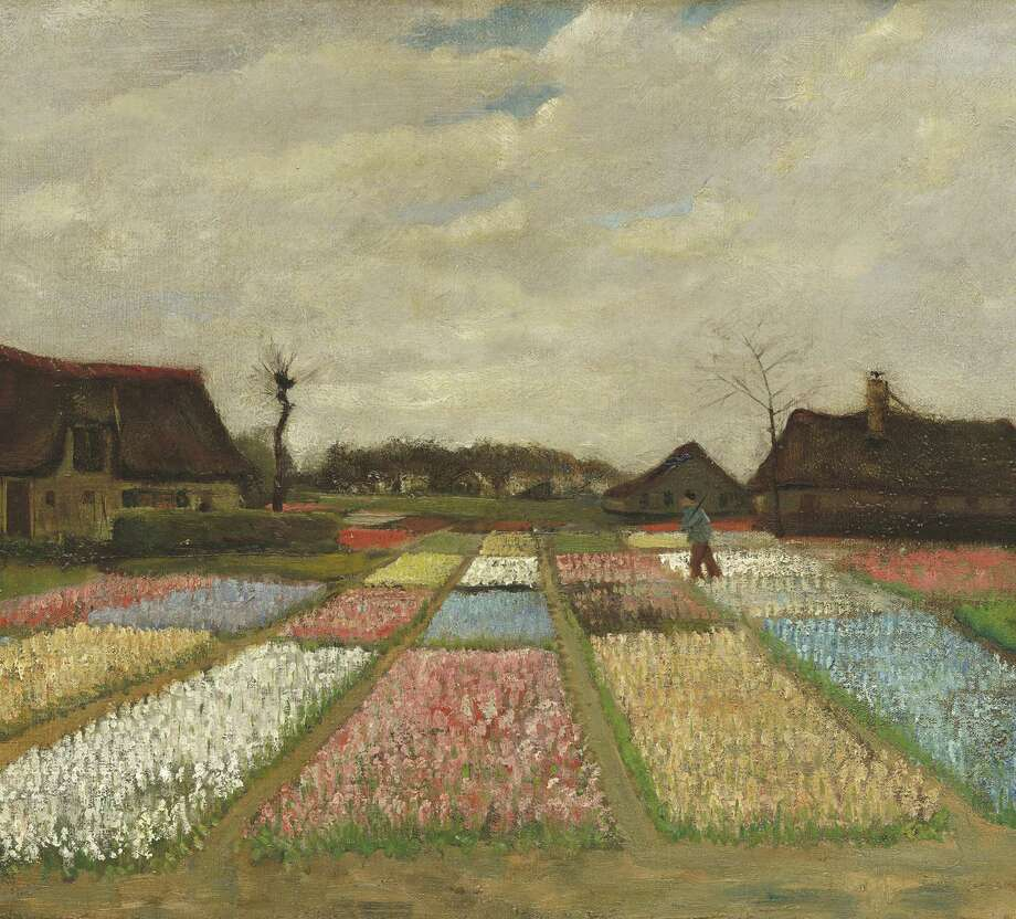 "Vincent Van Gogh's 1883 ""Flower Beds in Holland"" is featured in ""Intimate Impressionism"" at the McNay Art Museum this fall."