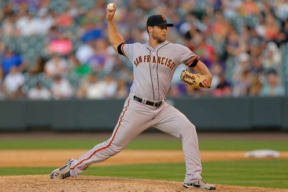 Changes are coming to the Giants' bullpen, and Hunter Strickland may be one addition. Photo: Justin Edmonds, Getty Images