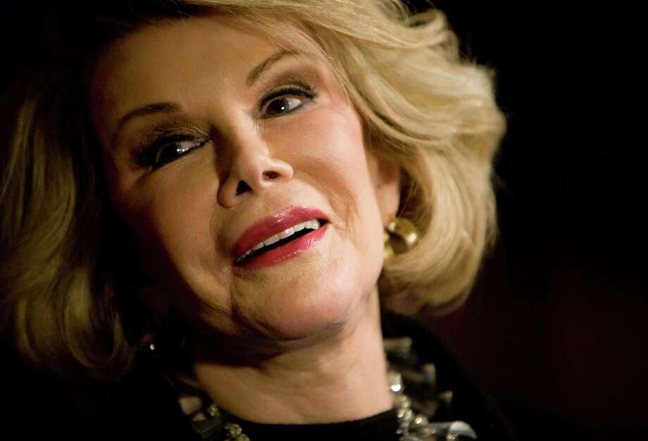 Over the years, Joan Rivers' comedic mean streak turned off some audiences while drawing in others. Photo: Getty Images / 2008 Getty Images