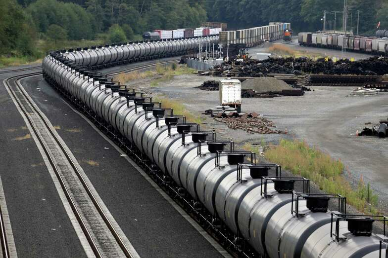 Oil production has outpaced pipeline capacity, resulting in more crude shipments by train.