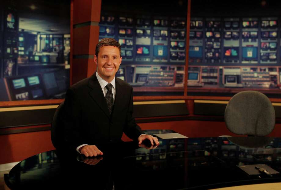 Andrew Catalon, a WNYT sports anchor pictured here in their studio in Menands, N.Y., Wednesday July 11, will be covering the Olympics for NBC this Summer. (Dan Little/Special to the Times Union) Photo: Dan Little / Copyright: All Rights Reserved Brett Carlsen