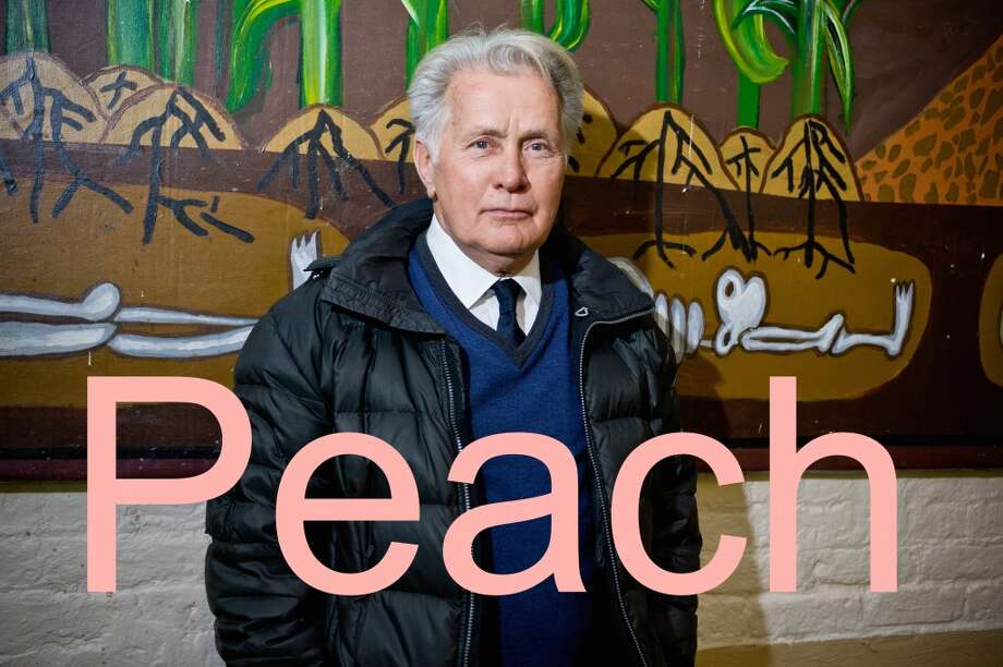 Martin Sheen's grandchildren call him Peach. Photo: Timothy Hiatt, Getty