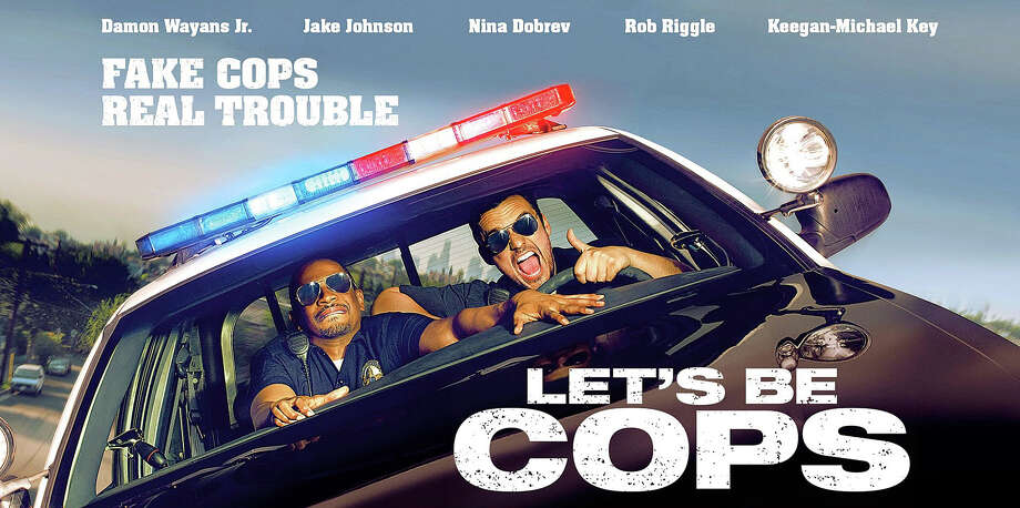 "The new movie comedy, ""Let's Be Cops,"" is now playing in area theaters. Photo: Contributed Photo / Westport News"