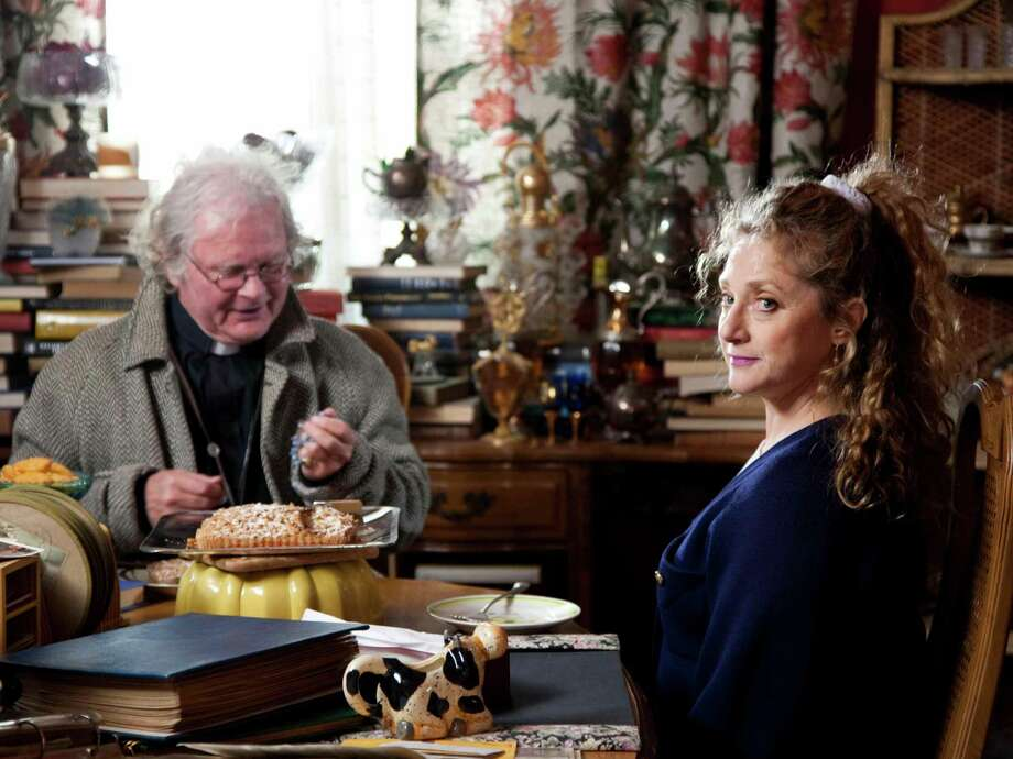 """In the latest film by New Milford screenwriter Paul Marcarelli, """"Clutter,"""" Carol Kane stars as a widow who can't get rid of anything. The movie will be shown at The Bethel Cinema on Wednesday, Sept. 17, as part of the Connecticut Film Festival. Photo: Contributed Photo / The News-Times Contributed"""
