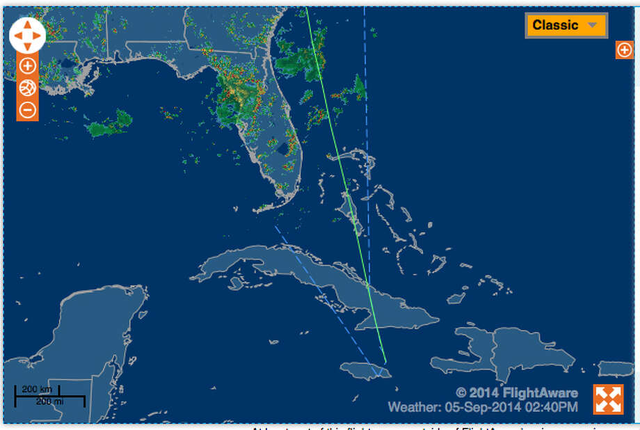 The Associated Press is reporting the plane tracked on this site, flightaware.com, has crashed on the Jamaica. This is a screen grab from flightaware.com's website that shows the flight of the   plane ? a small Socata TBM-700 business and utility aircraft ? that took off from Rochester and was scheduled to land in Naples, Fla., on Friday. The plane was last tracked approaching Jamaica. The pilot is not responding to communication attempts and long ago flew past Florida, flying over Cuba and now Jamaica. NORAD sent two F-15 fighter jets to check on the status of the plane and are escorting it.