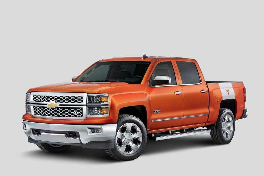 2015 Chevrolet Silverado University of Texas Edition Photo: Courtesy/Chevrolet