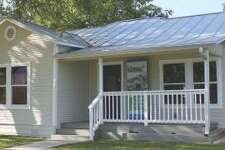 A bungalow at 205 Carolina St. was retrofitted with green features. It is one of six houses featured on the 2014 Green Home Tour, sponsored by Build San Antonio Green.