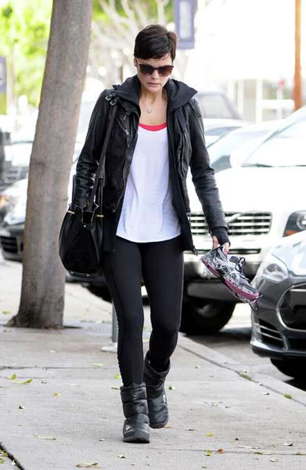 Jaimie Alexander is seen leaving the gym on February 27, 2014 in Los Angeles, California.  (Photo by Bauer-Griffin/GC Images) Photo: Bauer-Griffin, Getty  / 2014 Bauer-Griffin