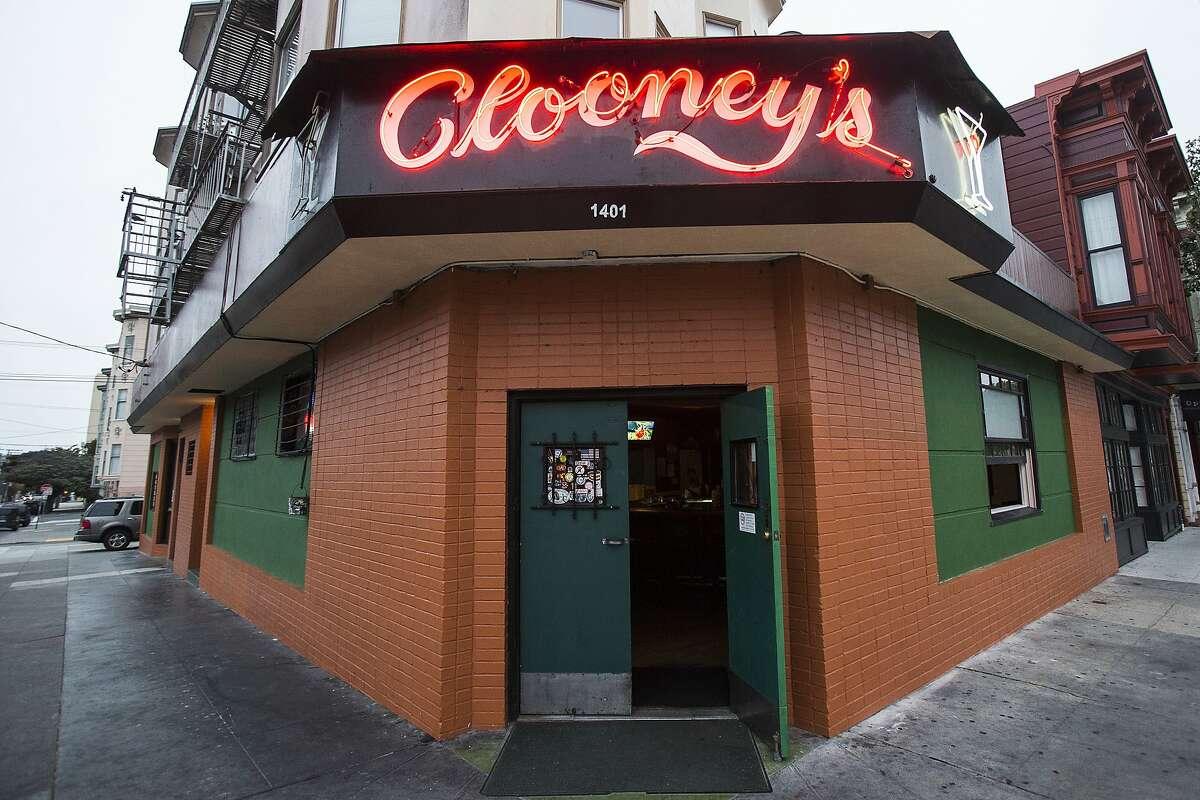 An exterior view of the Clooney's Pub in San Francisco, Calif. on Friday, Sept. 5, 2014.