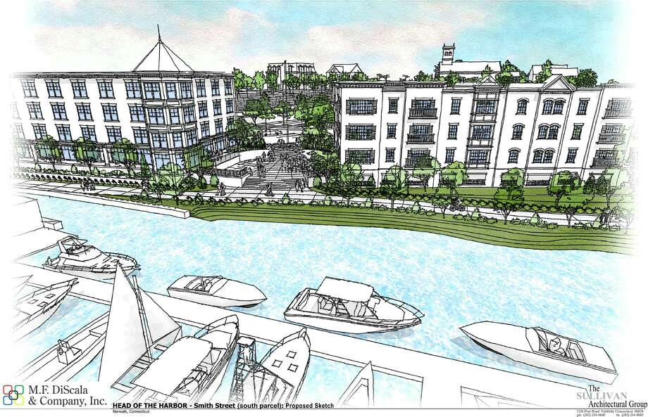 A rendering of the planned Smith Street development project in Norwalk. Photo: Contributed Photo / Connecticut Post Contributed
