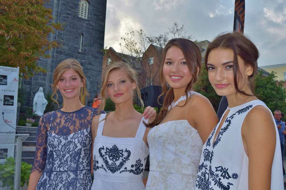 "Greenwich's annual ""Fashion on the Avenue"" event was held on Friday, September 5, 2014. Models of all ages walked a red carpet wearing fashions from local retailers and designers. Were you SEEN? Photo: Todd Tracy / Hearst CT Media"