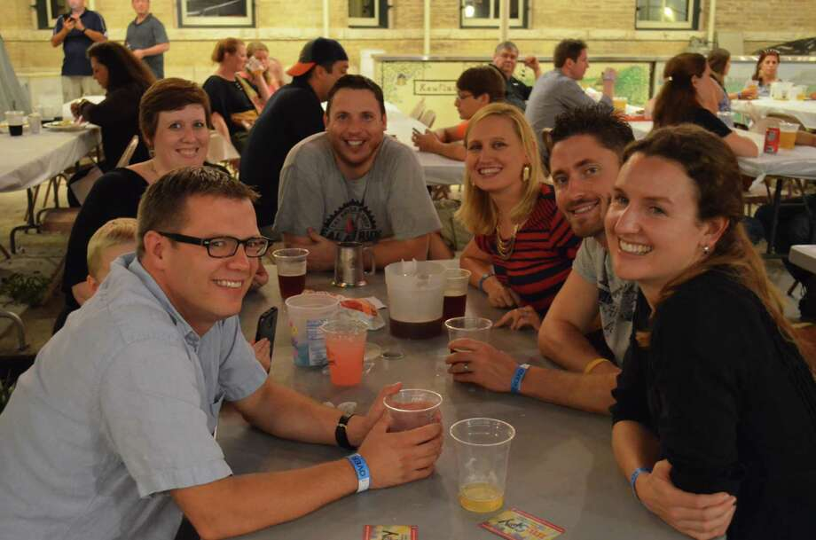 San Antonians had a great with  music, drinks and visual arts during this First Friday. Photo: By James Cannon/mySA.com