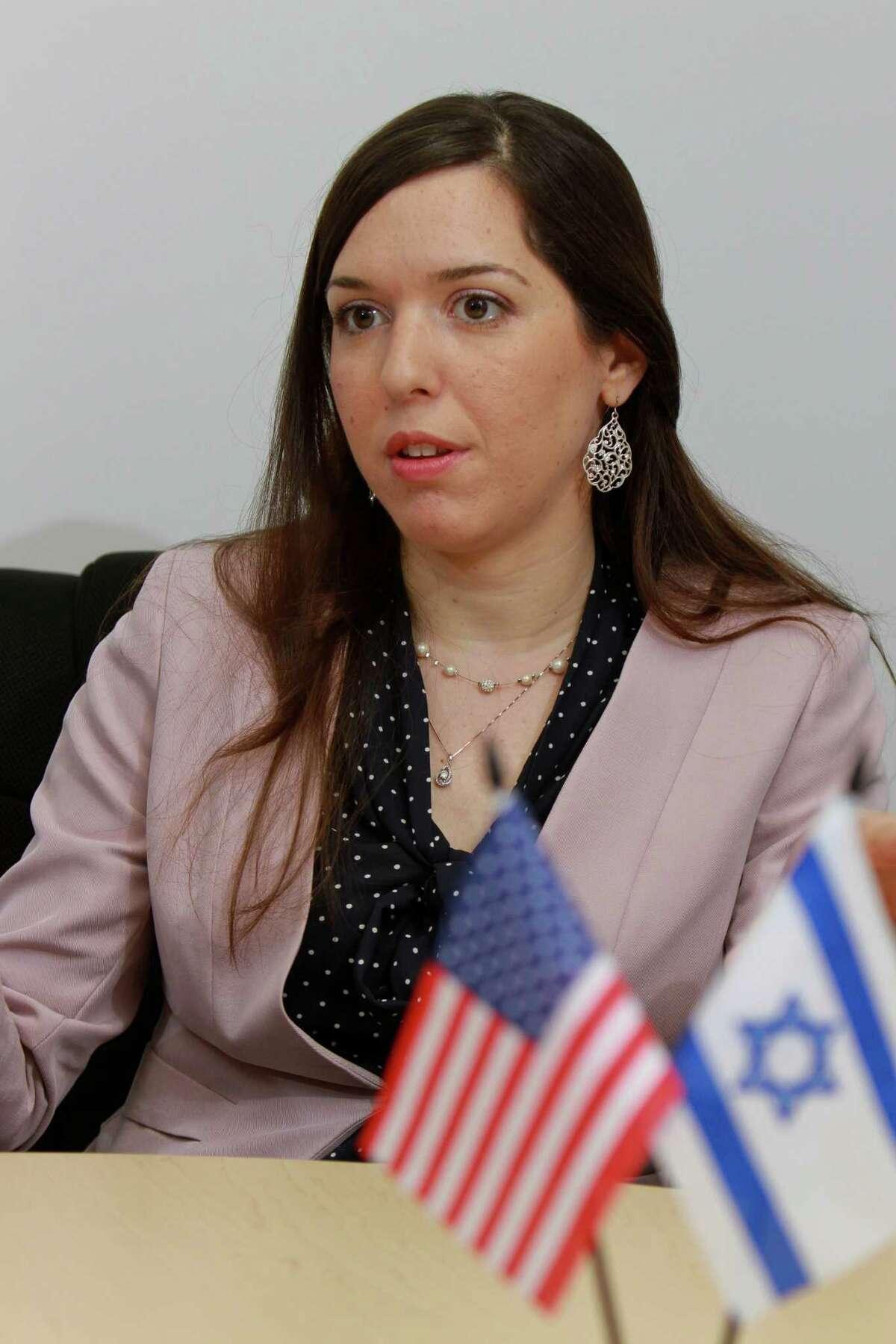 Israel's Michal Niddam-Wachsman has met with Texas energy executives.