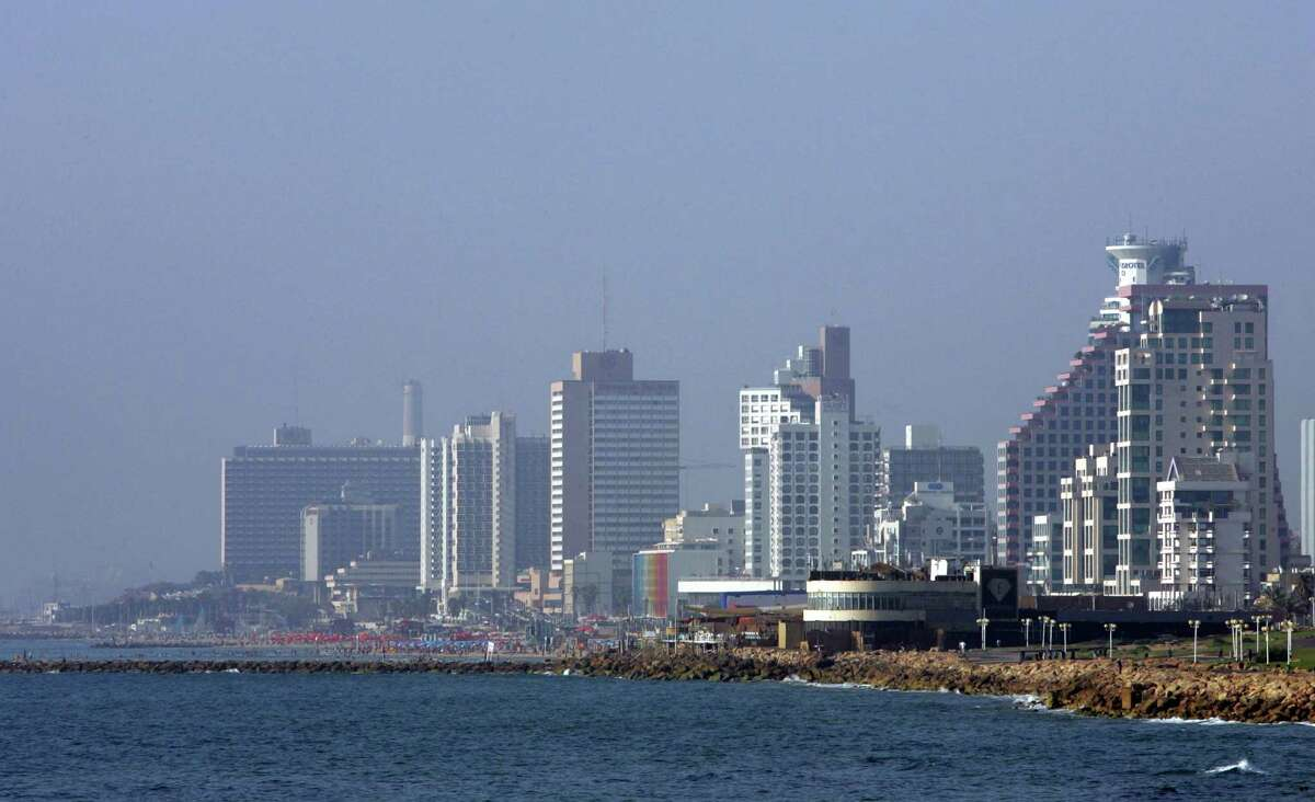 The Israeli city of Tel Aviv is on the shores of the Mediterranean Sea. The discovery of major gas fields deep below the Mediterranean off the country's coastline will allow Israel to begin exporting natural gas for the first time.