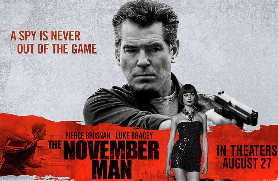"The thriller, ""The November Man,"" is now playing in area movie theaters. Photo: Contributed Photo / Westport News"