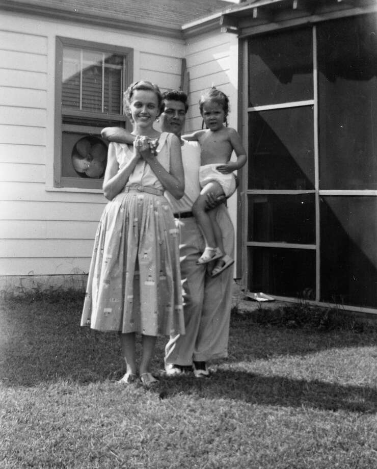 The author has vivid memories of growing up in Ferguson, Mo., with her parents. Later the family moved to Jerusalem, her father's first home. Photo: Naomi Shihab Nye Courtesy, STR / THE WASHINGTON POST