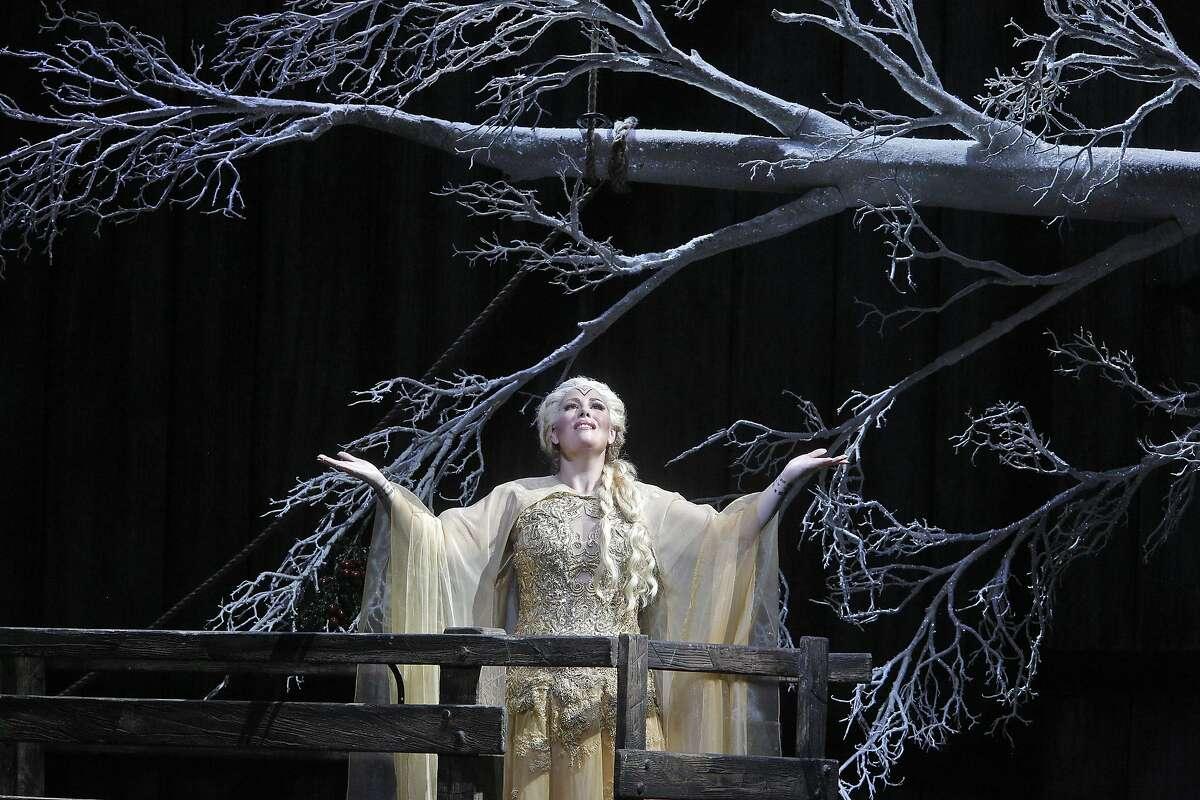 Sondra Radvanovsky as Norma during the San Francisco Opera's opening night performance on Friday, September 5, 2014.