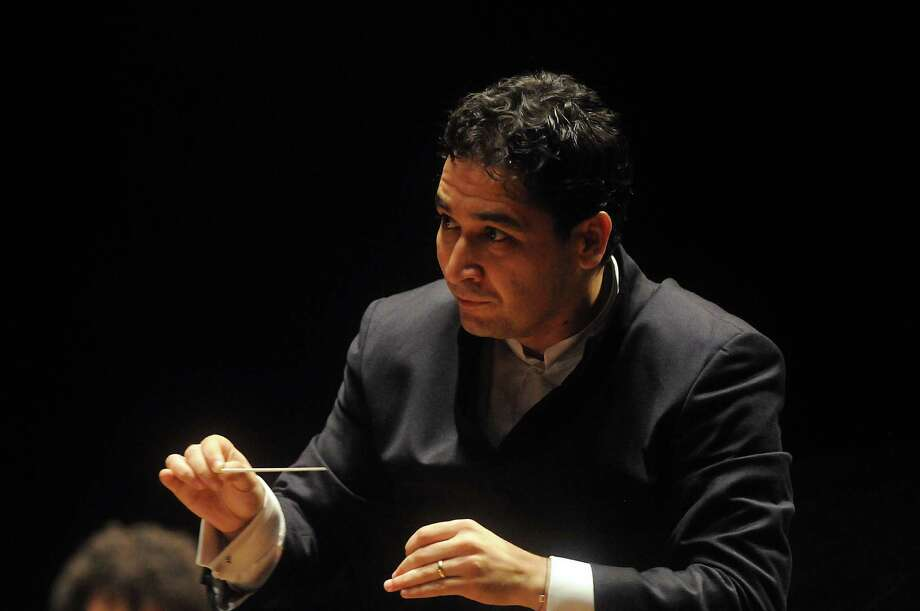 Andrés Orozco-Estrada leads Houston Symphony concerts Saturday and Sunday at Jones Hall. Photo: Dave Rossman, Freelance / Freelance