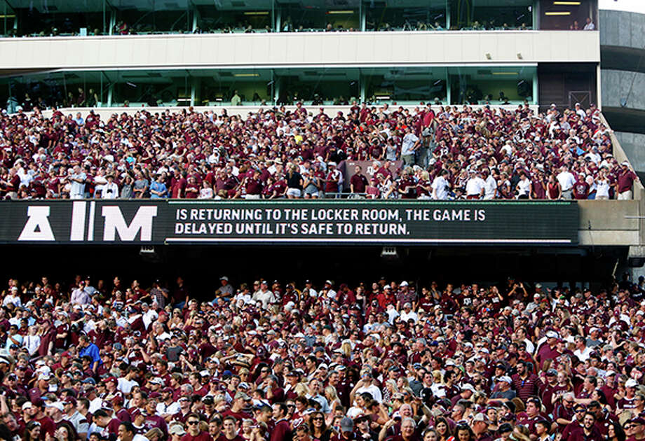 Texas A&M ranked third in the nation in football attendance in 2015. Click through the gallery to see the teams with the top 10 attendance in the country. Photo: Cody Duty, Houston Chronicle / © 2014 Houston Chronicle