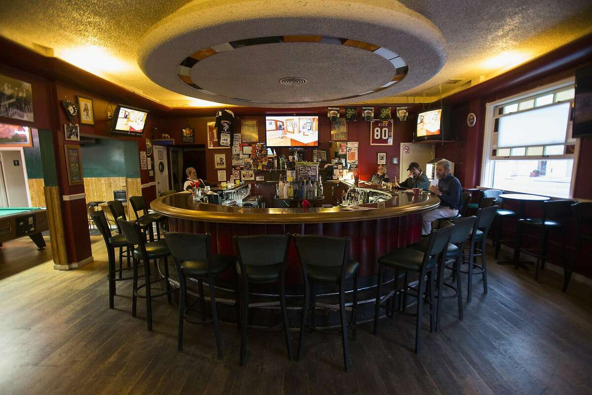 An interior view of Clooney's Pub in San Francisco, Calif. on Friday, Sept. 5, 2014.