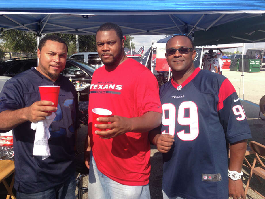 Nine months after the Texans ugly two-win season finally ended, Texans fans came bright and early to tailgate outside NRG Stadium with optimism that a fresh slate and new players will lead to a better season. Photo: Dave Rossman / For The Houston Chronicle