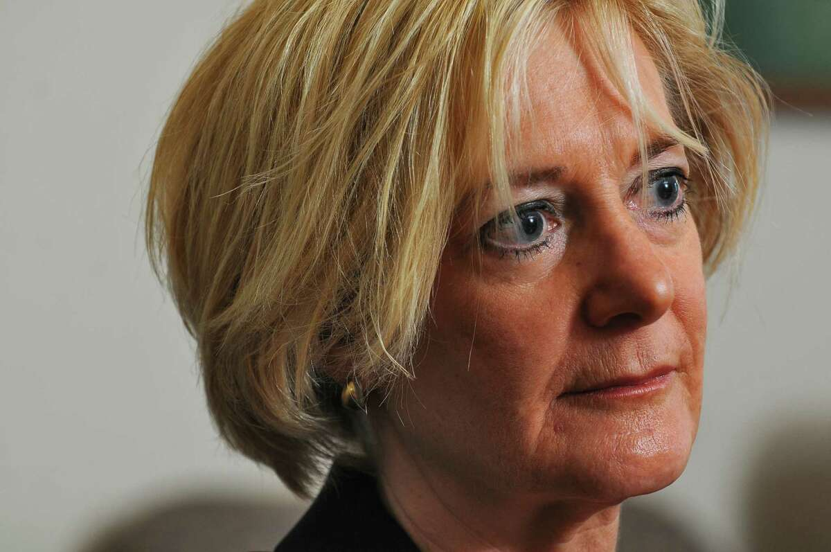 Cathryn Doyle, former Albany County Surrogate Court judge, in the Times Union for an editorial board meeting in Colonie, NY on Thursday September 9, 2010. In March 2021, Doyle - a former judge removed from the bench - was removed from a civil case as an attorney because she represented a party in connection with the same case she presided over as a judge 10 years earlier. ( Philip Kamrass / Times Union )
