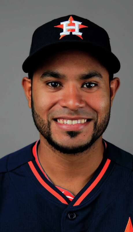Houston Astros Gregorio Petit (2) photographed during media day at the Houston Astros spring training facility,Friday, Feb. 21, 2014. ( Karen Warren / Houston Chronicle ) Photo: Karen Warren, Staff / © 2013 Houston Chronicle