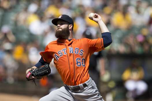 September 7: Astros 4, Athletics 3  Dallas Keuchel keeps the Astros in it long enough for the offense to rally in the ninth, ensuring they don't loss 100 games this season.  Record: 63-80. Photo: Jason O. Watson, Getty Images