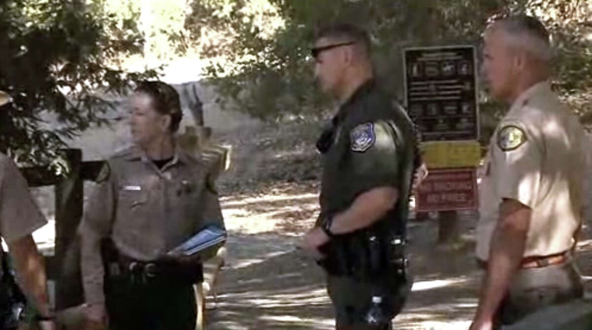 A a 6-year-old boy was attacked by a mountain lion on a hiking trail near Cupertino on Sunday.