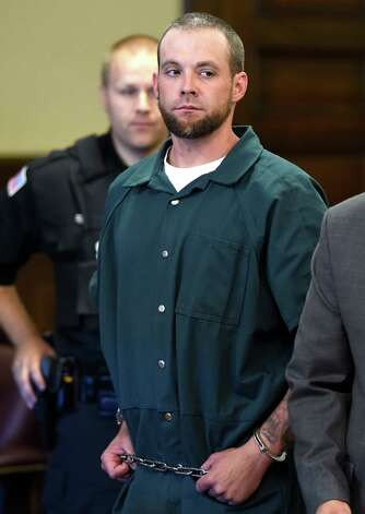 Daniel P. Reuter is arraigned on murder charges Monday morning, Sept. 8, 2014, at Rensselaer County Court in Troy, N.Y.   (Skip Dickstein/Times Union) Photo: SKIP DICKSTEIN / 00028502A
