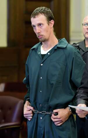 Jacob Heimroth is arraigned on murder charges Monday morning, Sept. 8, 2014, at Rensselaer County Court in Troy, N.Y.   (Skip Dickstein/Times Union) Photo: SKIP DICKSTEIN / 00028502A