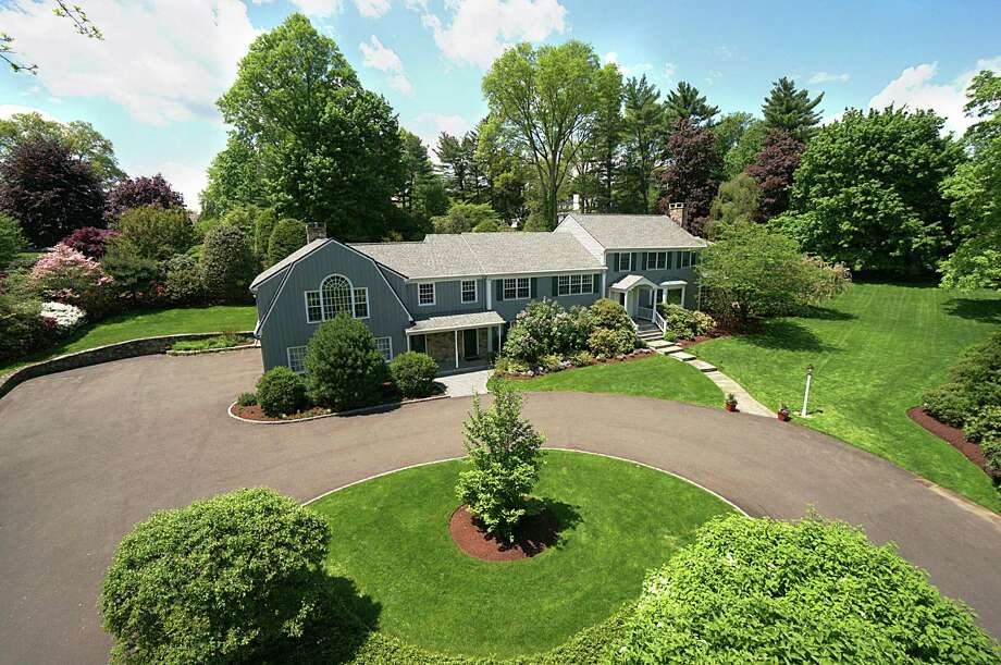 The property at 80 Deepwood Road is on the market for $2,575,000. Photo: Contributed Photo / Darien News