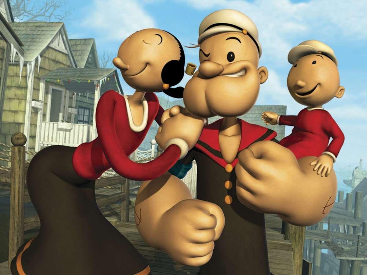 Shell prospects: Cartoons: Popeye, Brutus, Bullwinkle , Rocky, Boris